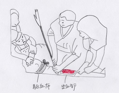 図2手で矢を抜く - コピー.JPG