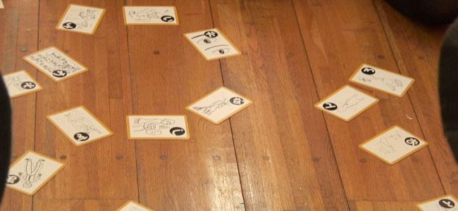 桜花学園大学150人の学生さんが、『幻聴妄想かるた』を体験してくれたよ。